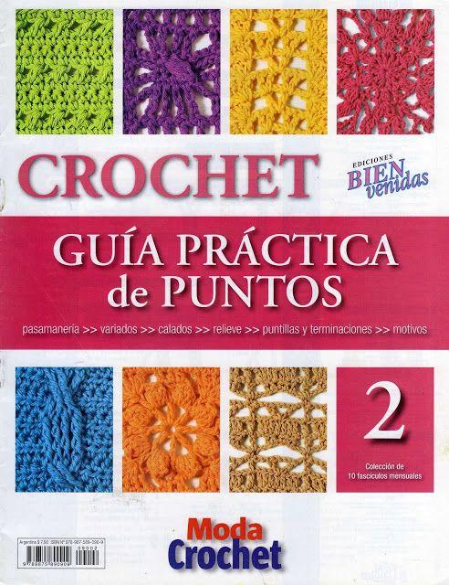 Patrones para Crochet: Guia Practica de Puntos. Num 2