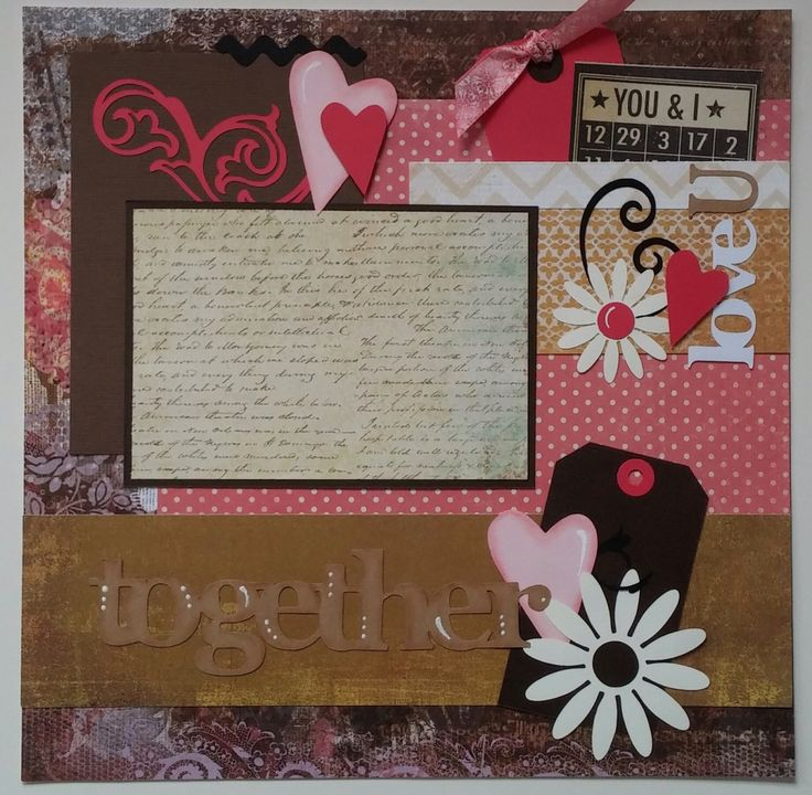 Love * Couples * Together * premade scrapbook layout page Ohioscrapper by ohioscrapper on Etsy https://www.etsy.com/listing/218654096/love-couples-together-premade-scrapbook