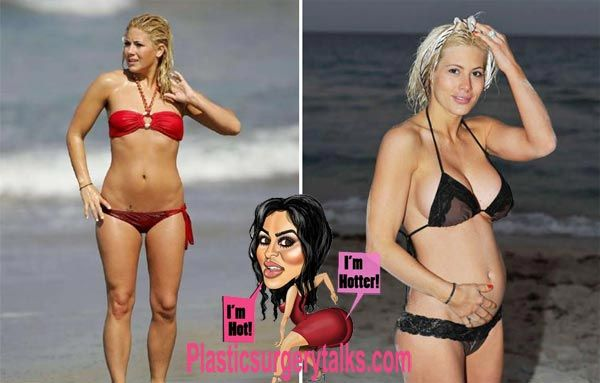 Shayne Lamas Plastic Surgery - Breast Implants Done - http://plasticsurgerytalks.com/shayne-lamas-plastic-surgery/