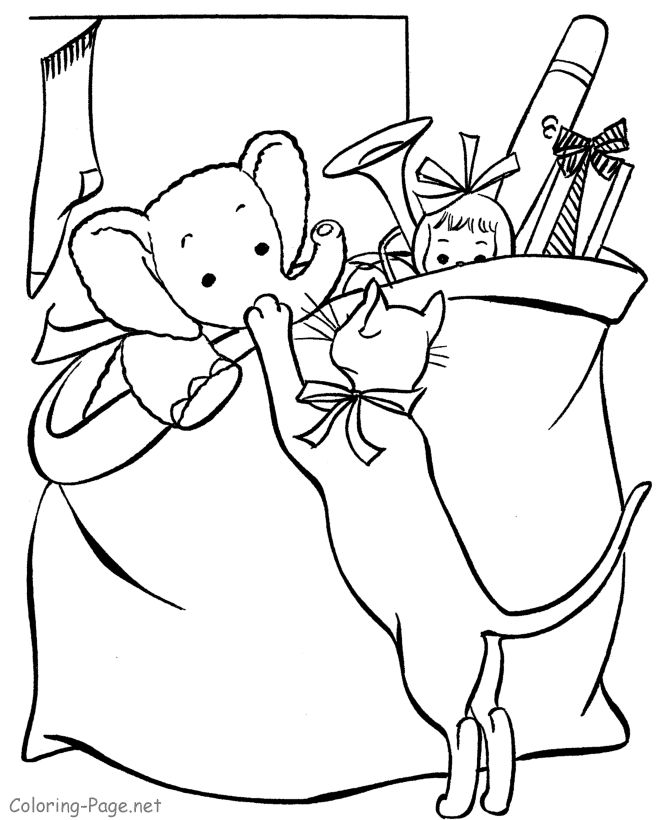 Free Printable Christmas Coloring Pages Many Categories Of Holiday Sheets And Book Pictures For Kids To Choose From