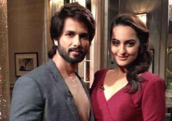 Koffee with Karan: Sonakshi, Shahid make fun of Katrina Kaif (view pics)