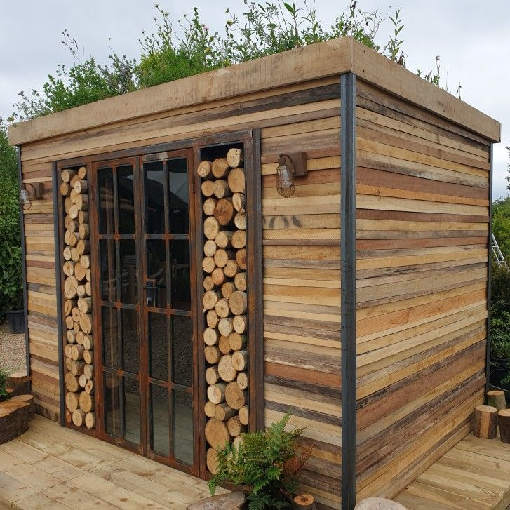 Pleasing A Versatile Garden Building Made From Many Reclaimed Camellatalisay Diy Chair Ideas Camellatalisaycom