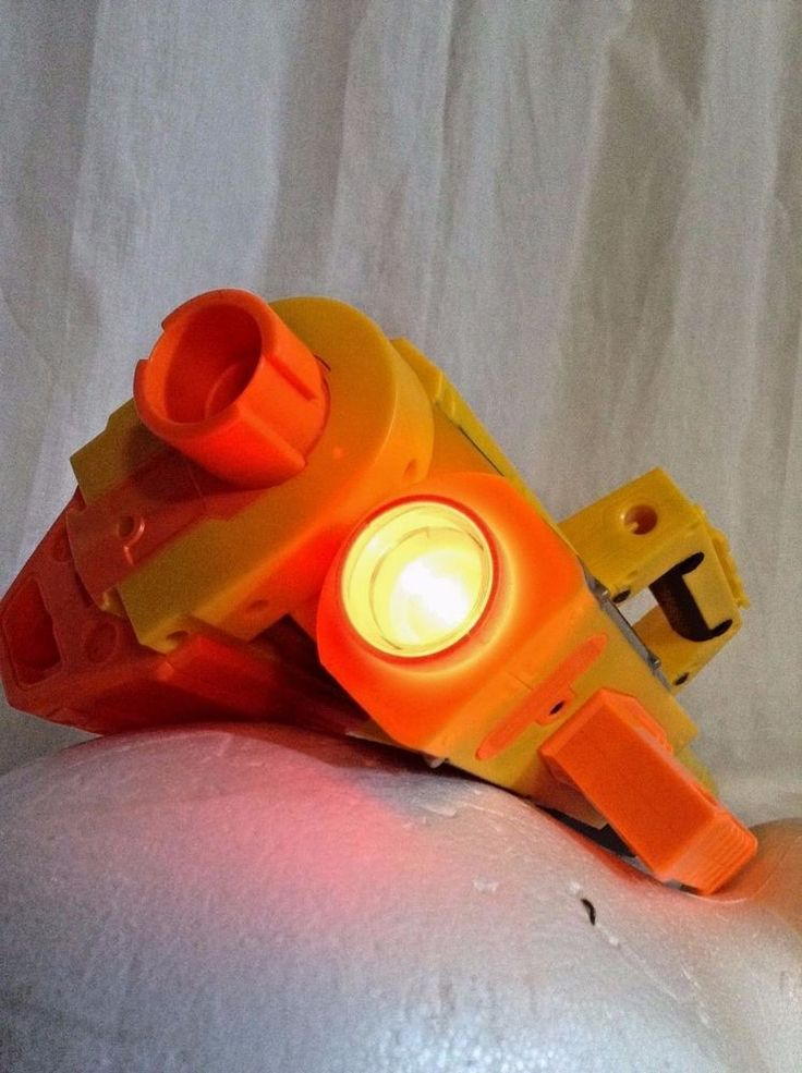 This is cool!   Nerf N-Strike Deploy CS-6 Lighted Barrel Attached Dart Blaster  #NERF