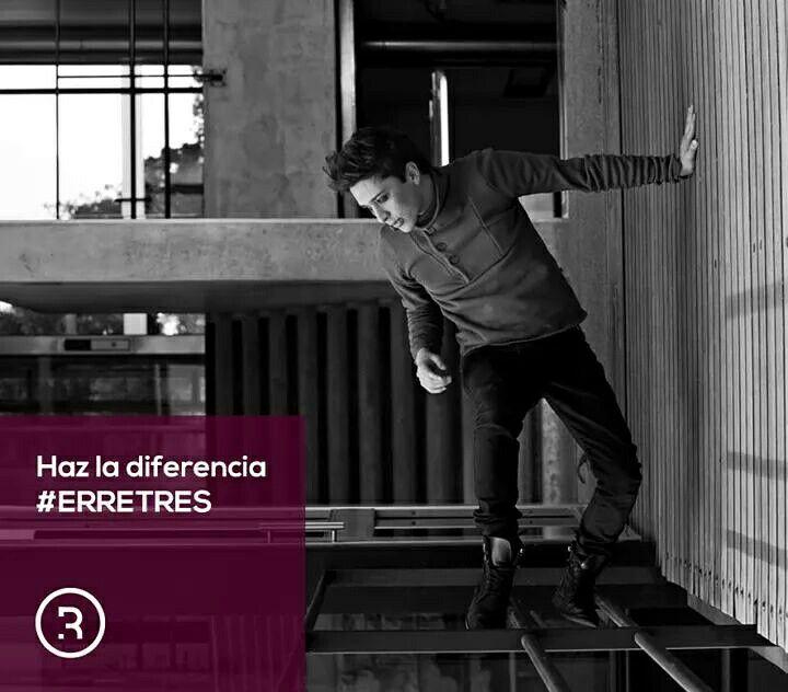Haz la diferencia. #ERRETRES