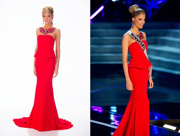 Miss Minnesota, Danielle Hooper. | The Definitive Ranking Of All 51 Miss USA Contestants' Evening Gowns