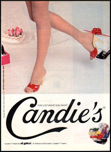 Candies Shoe Ads  S Big Feet