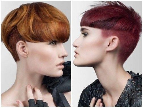 Tagli corti 2014 alla moda - Taglio corto 2014 grafico