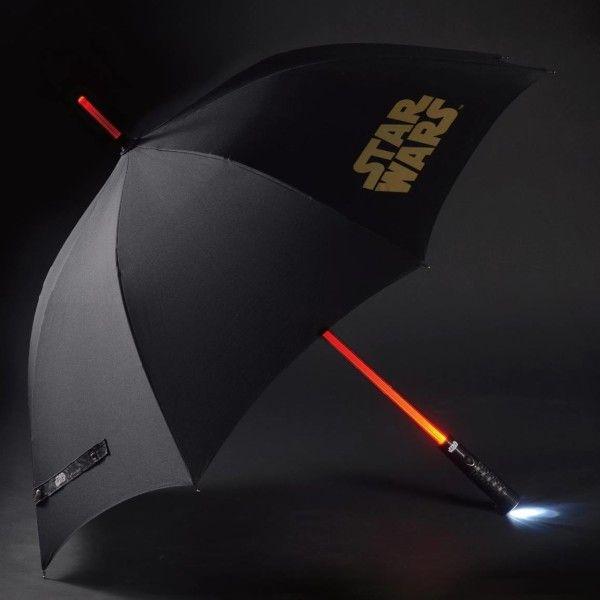 Lightsaber Umbrella - $99 ⋆ Star Wars Gifts! Maybe purple?