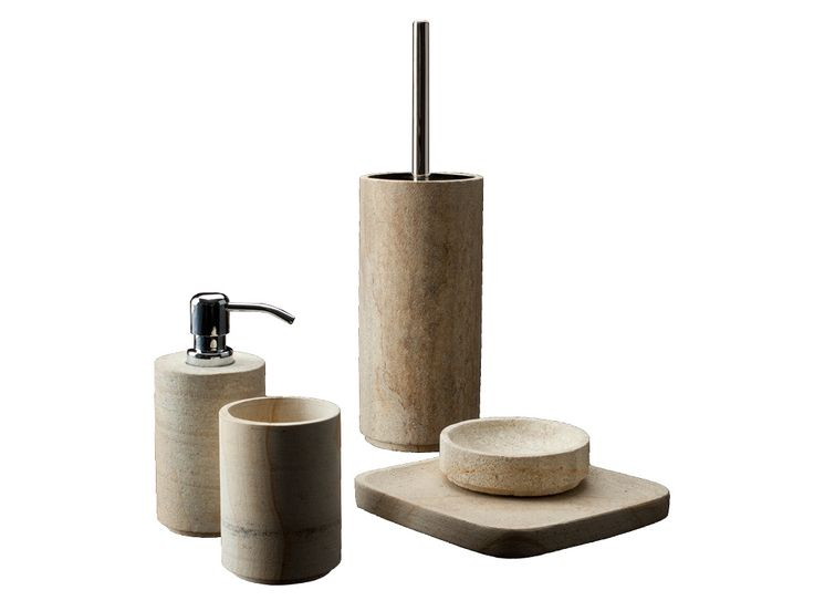 #Cipì #Sela Toilet Brush CP909/SE | #Stone | on #bathroom39.com at 80 Euro/pz | #accessories #bathroom #Rustic #complements #items #gadget