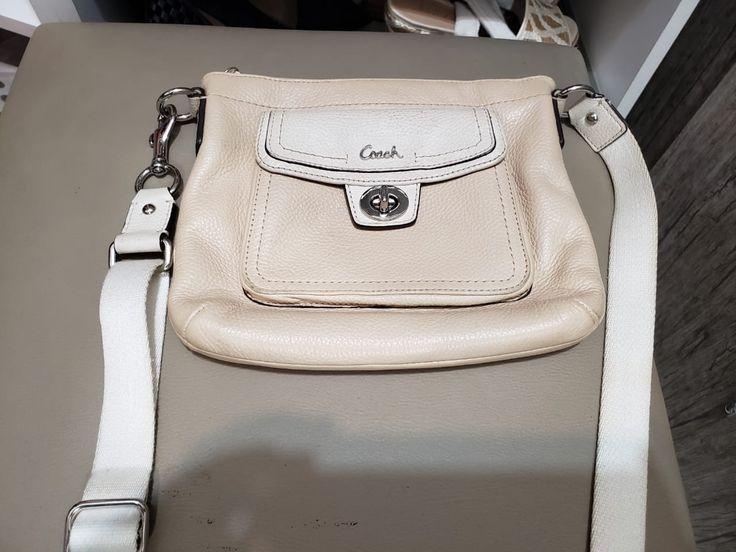Ivory Flat Small Bag – Coach