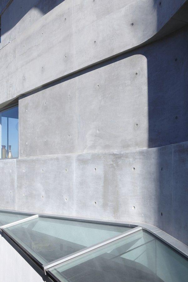 Современный дом с видом на море в Австралии