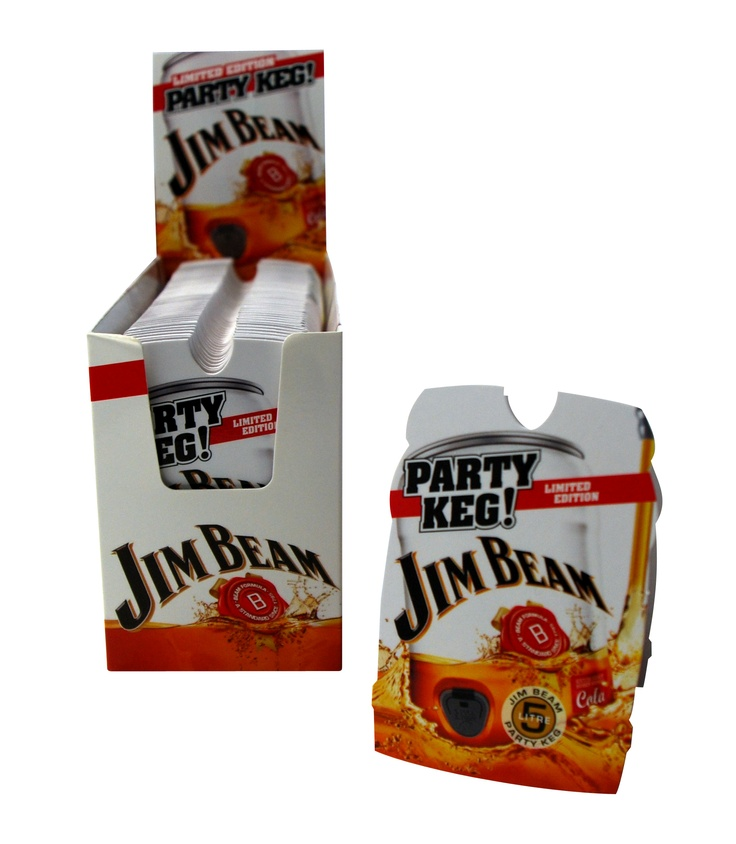 Jim Beam Z-CARDs in Point of Sale Boxes