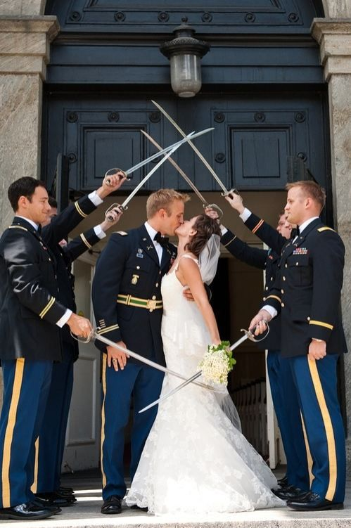 love the military tradition