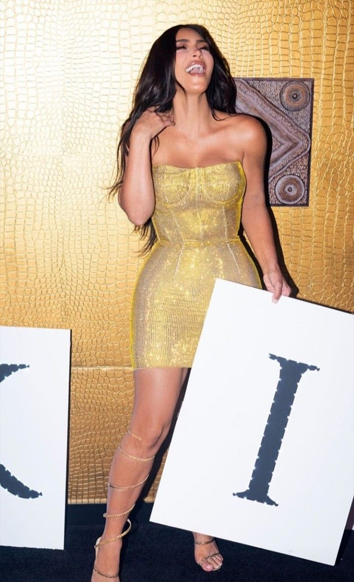 Kim S 40th Birthday Party Strapless Dress Formal Fashion Formal Dresses [ 1181 x 720 Pixel ]