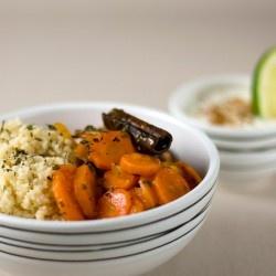 Oriental Couscous with Carrots