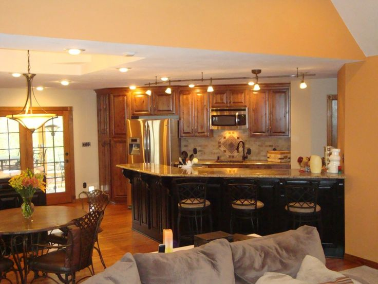 Open Concept Kitchen Living Room Designs Kitchen Make Over Cornerstone Homes Of The