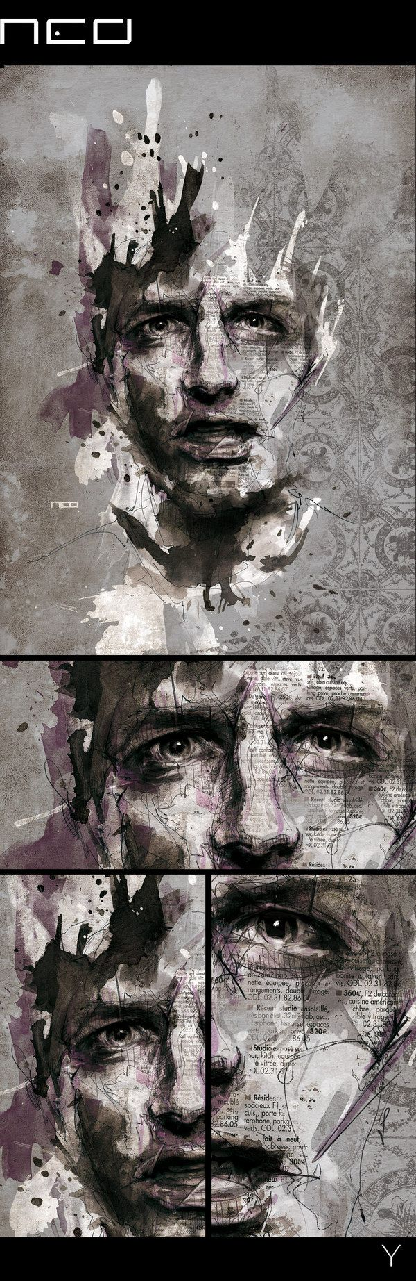 Y by Florian NICOLLE, via Behance