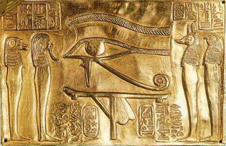 О чем знали в Древнем Египте? «Глаз Гора» или «Око Ра» — древнеегипетская карта глубинного образования в мозге человека