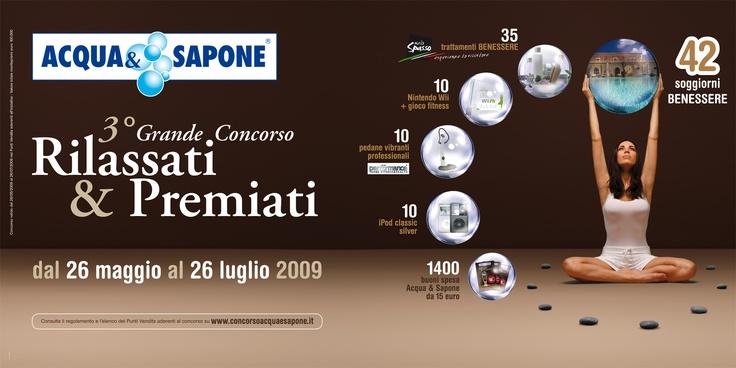 """GRANDE CONCORSO ACQUA 2009 """"RILASSATI & PREMIATI"""""""