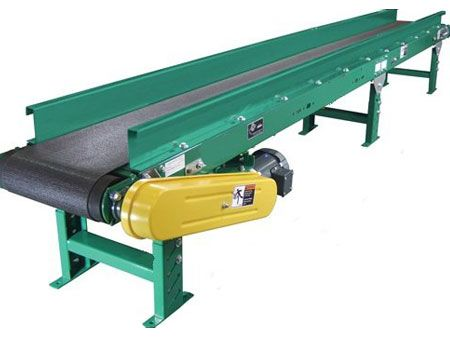 Flat Belt Conveyor manufactured by ZM Automation . The most commonly used powered conveyor to convey a wide variety of regular & irregular shaped products from light to medium loads. http://www.zm-automation.com/flat-belt-conveyor/