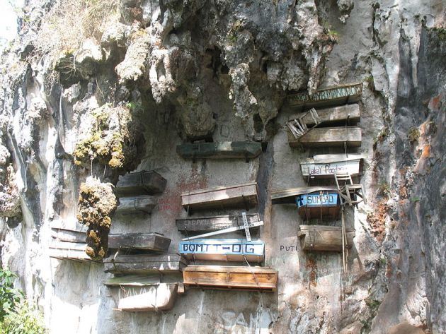 The Mysterious Hanging Coffins of Sagada