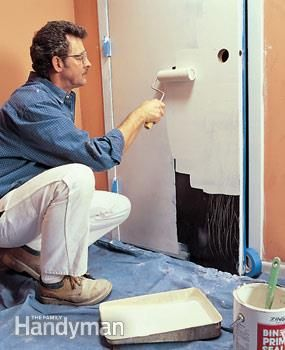 """If the old paint is in good shape, there's no need to prime. But if the paint is chalking or is chipped, use an oil-based enamel undercoat primer after properly prepping the surface."" How to Choose and Use Primer: Drywall & Paint 