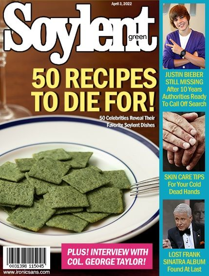 Soylent Green Is People Magazine