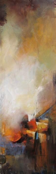 Original art for sale at UGallery.com | Ponder by Karen Hale | acrylic painting