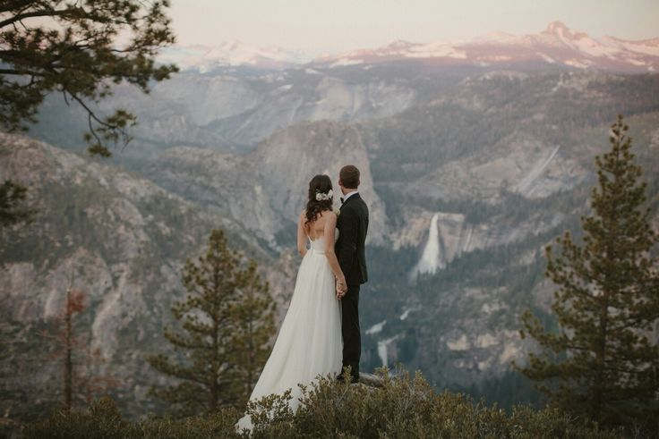Yosemite wedding