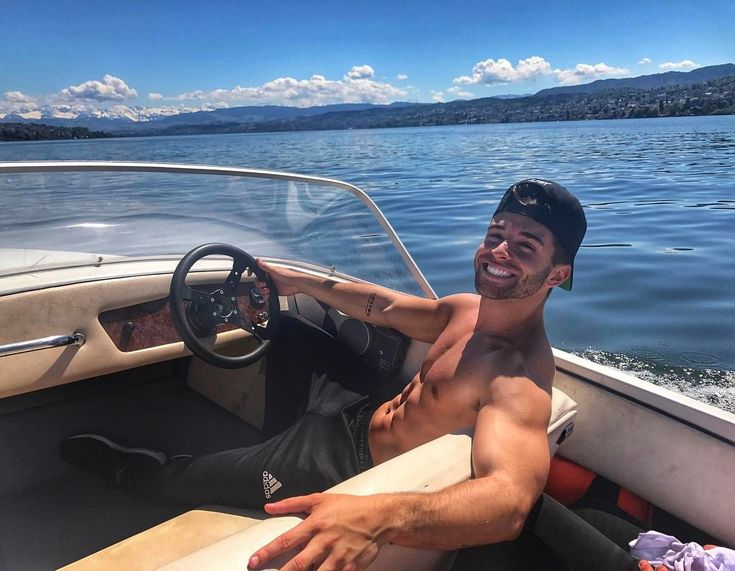 """53.2k Likes, 255 Comments - Jake Miller (@jakemiller) on Instagram: """"Top 5 days of my life. Woke up in Switzerland and rented a speed boat on the most gorgeous lake…"""""""