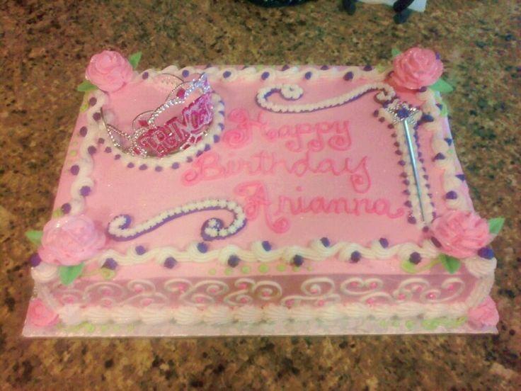 birthday sheet cakes google search princess theme princess cakes