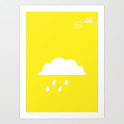 05_Webdings_DB Art Print by Iris & Floss - $18.00
