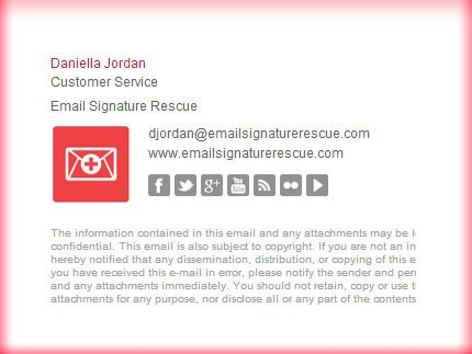 141 best Email Signature Templates images on Pinterest Email - sample email signature