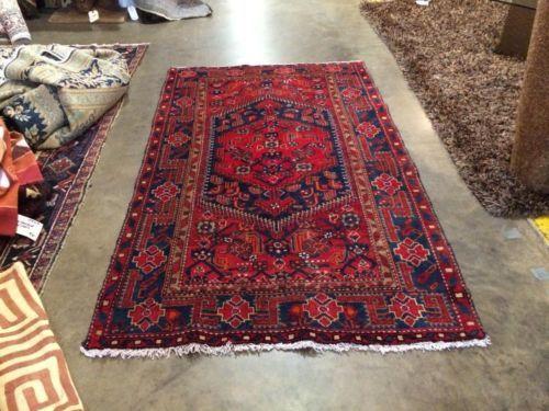 Persian Tribal Rug On Sale Mossel 40+ Years Old 6'6