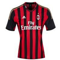 13-14 AC Milan Home Jersey Shirt