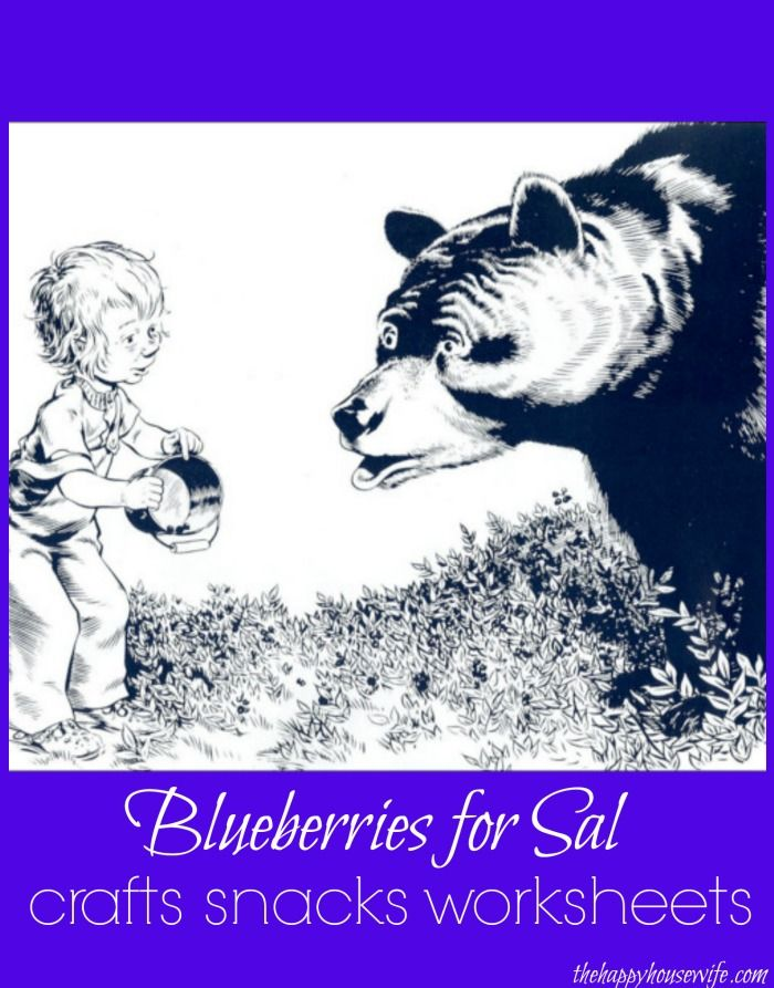 31 Days of Read-Alouds: Blueberries for Sal ~ seriously one of MY favorite books to read with the kids | The Happy Housewife