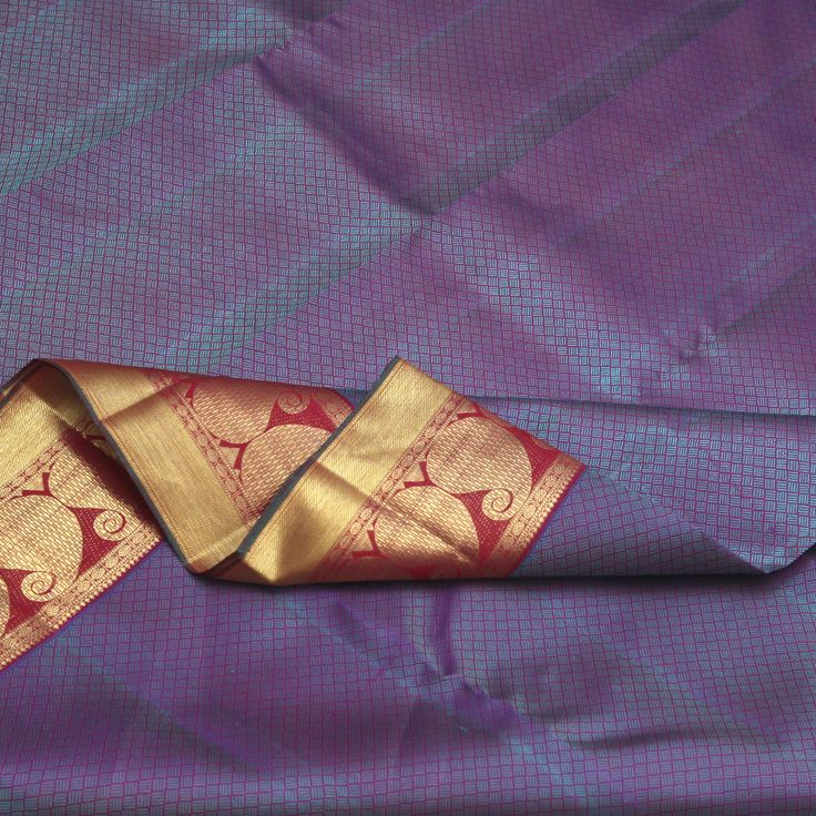 Sarangi Handwoven Kanjivaram Silk Saree -  760127981