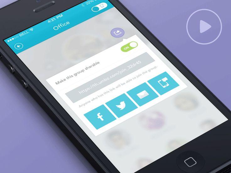 IOS app confirmation popup (GIF) by Daniela Alves