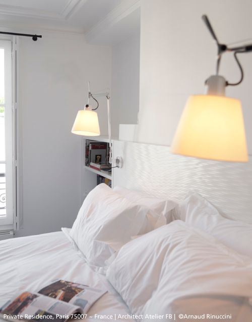 Tolomeo Wall Lamp Bedroom : Perfect Sunday morning ! Ft. ?#?Tolomeo? basculante parete. ?#?design? Michele De Lucchi ...
