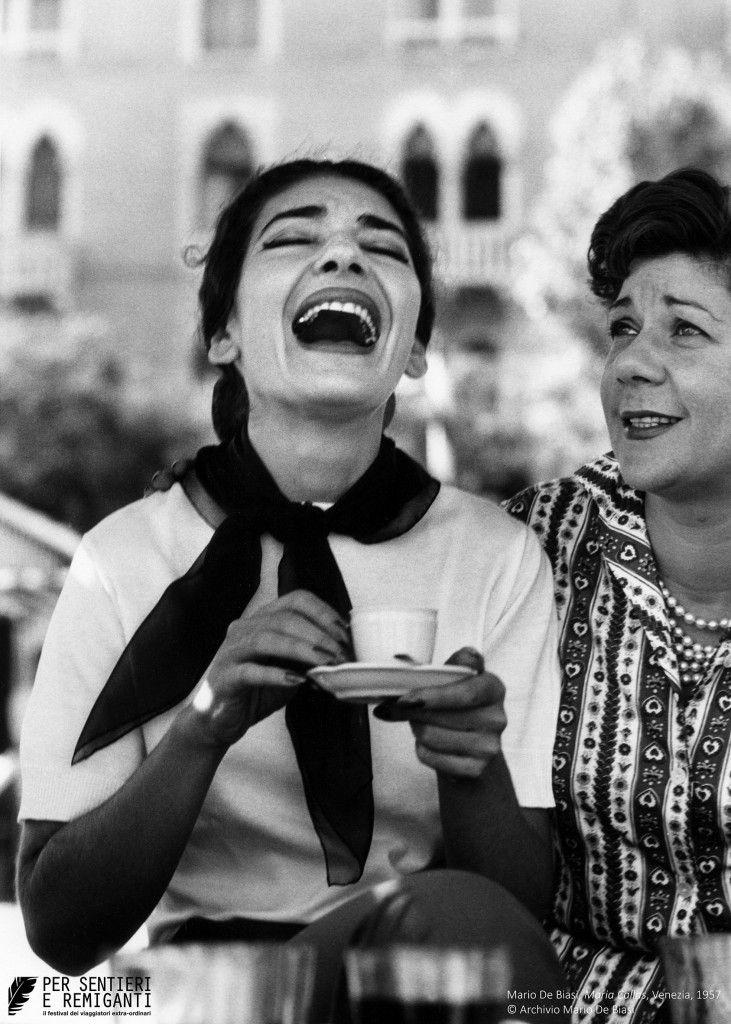 Maria Callas por Mario De Biasi.-