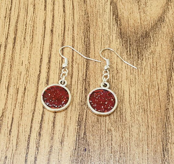 Check out this item in my Etsy shop https://www.etsy.com/uk/listing/482680006/red-glitter-earrings-glittery-earrings