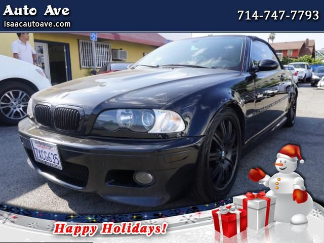 Used 2004 BMW M3 Convertible for Sale in Los Angeles, Korea Town CA 90006 Auto Ave