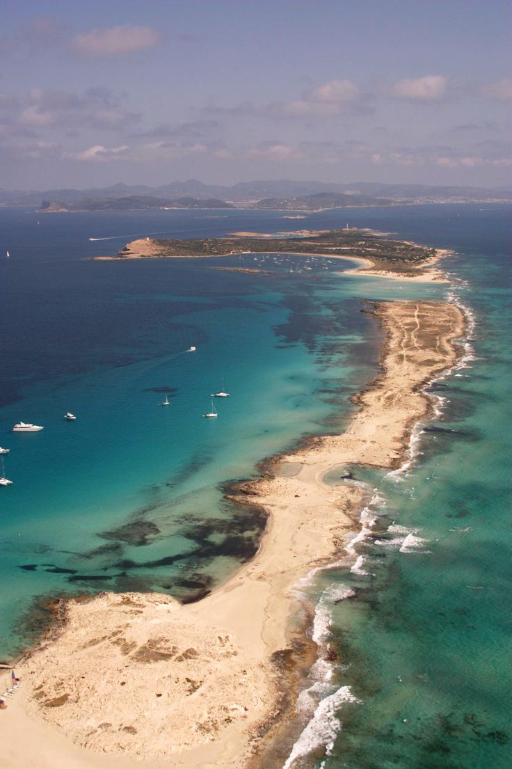 Formentera from the air