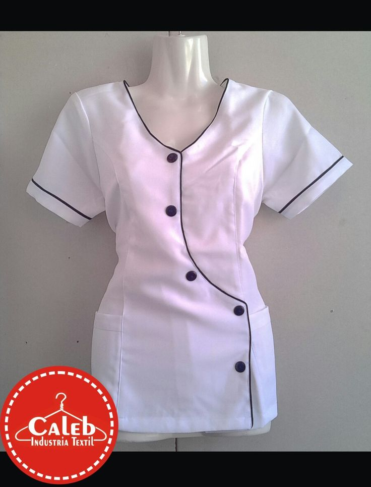 #DELANTAL #BLANCO #traje #blusa #profesora #enfermera  Consultas al Whatsapp +056978942700