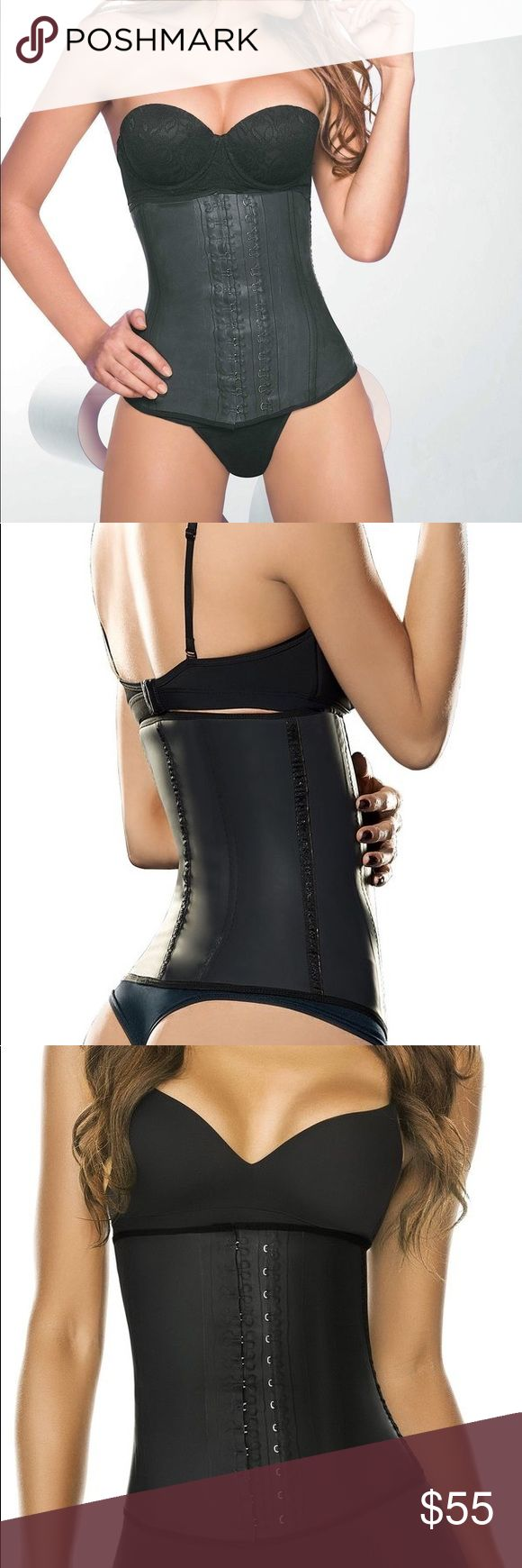 """Ann Cherry 2025 Latex Waist Trainer Faja ANN CHERY CLASICA 2025  Less inches, more curves! This Colombian Latex Girdle, Ann Chery 2025 """"Clasica"""", will help you reduce your size and control your figure. The Cotton lining in this waist shaper provides freshness and comfort and protects skin from latex. This size reducing shaper can be used everyday. Fajas Colombianas Ann Chery Shape wear for Women made in Colombia by Fajas Ann Chery, with the highest standard of quality and comfort. Ann Cherry…"""