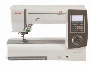 Macchina per cucire Janome Horizon Memory Craft MC 8900 QCP - Migliora notevolmente la resa nel punto dritto e in tutti gli altri punti.