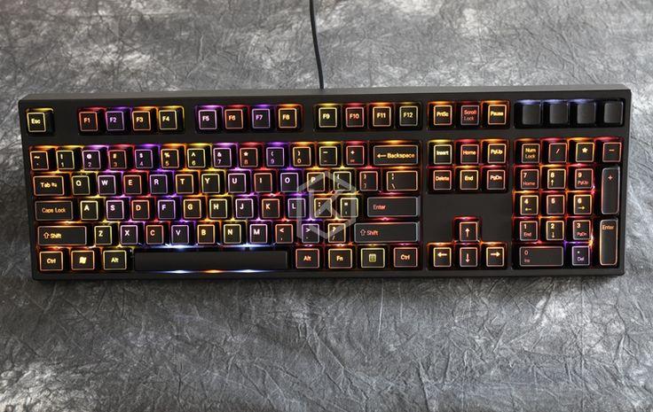 keycaps gaming mechanical 60 keyboard diy gadgets illuminated key caps setup 3d abs aliexpress electronic mechanic cheap