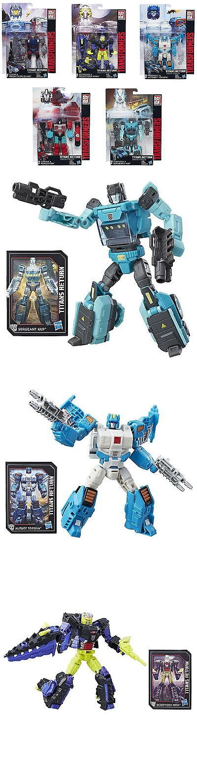 Transformers and Robots 83732: Transformers Titans Return Deluxe Wave 4 Set - Kup Topspin Krok Quake Perceptor -> BUY IT NOW ONLY: $72.61 on eBay!