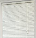 Achim Home Furnishings Eclipse 1/4-Inch Oval Roll Up Shade, 72-Inch by 72-Inch, White