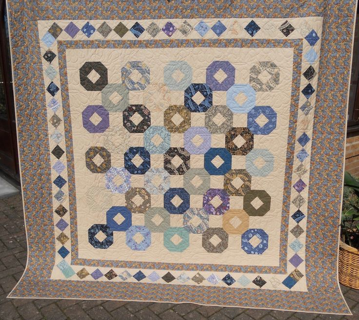 1133 best handmade quilts and gifts images on pinterest jelly handmade bed quiltdern large quilthalf square trianglesheather coloursding negle Choice Image